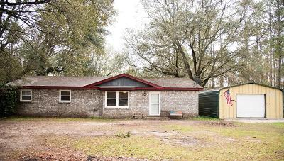 Ludowici Single Family Home For Sale: 891 Thickette Road NE