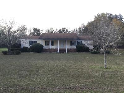 Ludowici Single Family Home For Sale: 2769 Marcus Nobles Road