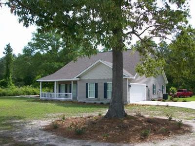 Jesup Single Family Home For Sale: 251 Longleaf Lane