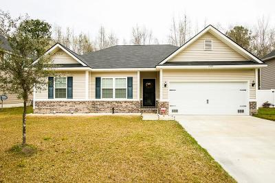 Hinesville Single Family Home For Sale: 1252 Peacock Trail