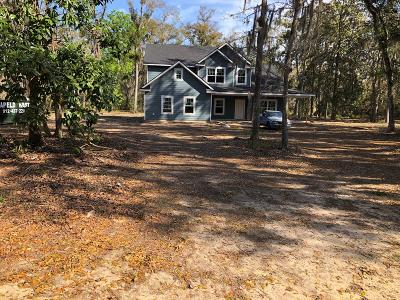 Midway Single Family Home For Sale: Lot 11 Spartina Way