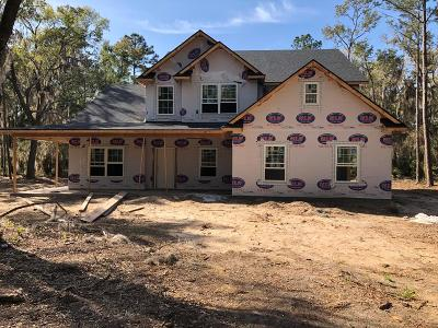 Midway Single Family Home For Sale: Lot 16 Spartina Way