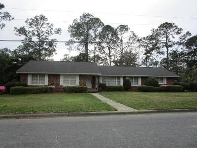 Jesup Single Family Home For Sale: 147 West Magnolia Street