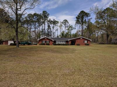 Ludowici Single Family Home For Sale: 2287 Highway 84