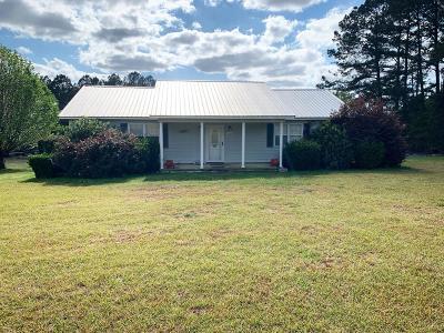 Jesup Single Family Home For Sale: 9145 Lanes Bridge Road