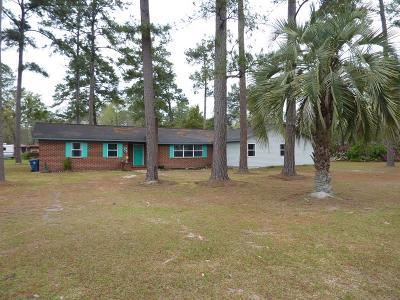 Ludowici Single Family Home For Sale: 148 Oak Street NW
