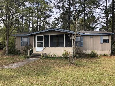 Jesup Single Family Home For Sale: 340 Three C Road