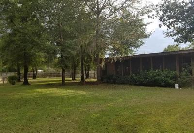 Jesup Single Family Home For Sale: 2092 Killingsworth Road