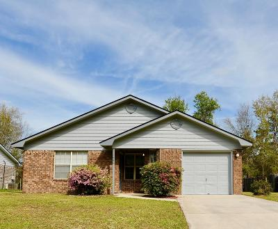 Hinesville Single Family Home For Sale: 1464 Fritts Court