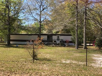 Jesup Single Family Home For Sale: 312 Maple Drive South