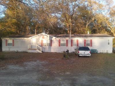 Ellabell Single Family Home For Sale: 1524 Bill Futch Road