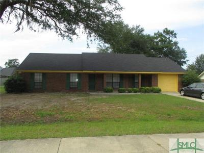 Hinesville GA Single Family Home For Sale: $105,000