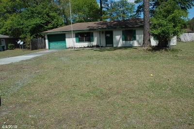 Hinesville GA Single Family Home For Sale: $57,500