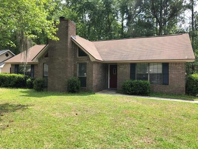 Hinesville GA Single Family Home For Sale: $125,000