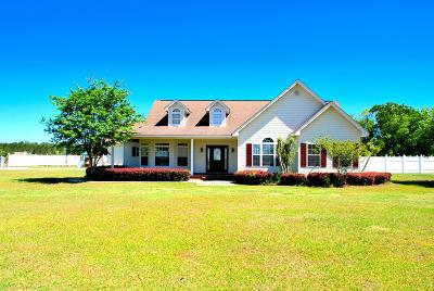 Jesup Single Family Home For Sale: 166 Grace Road
