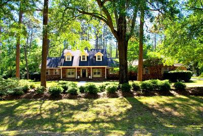 Jesup Single Family Home For Sale: 357 Memorial Drive