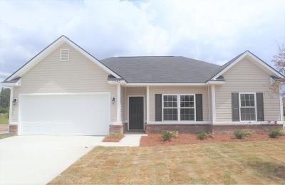 Hinesville Single Family Home For Sale: 1340 Evergreen Trail