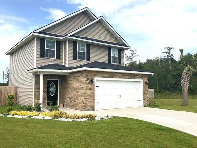 Ludowici Single Family Home For Sale: 121 Wyatt Court NE