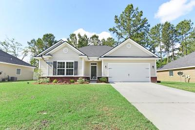 Hinesville Single Family Home For Sale: 1269 Peacock Trail