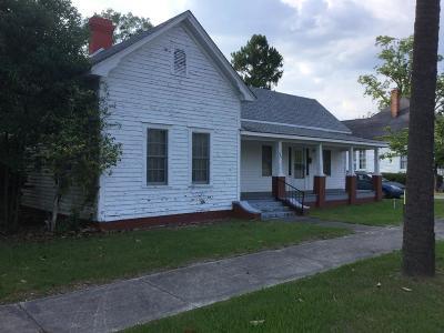 Jesup Single Family Home For Sale: 247 Wayne Street
