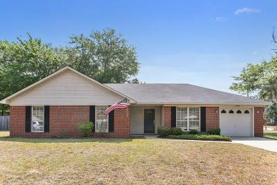 Hinesville Single Family Home For Sale: 1398 Coalition Circle