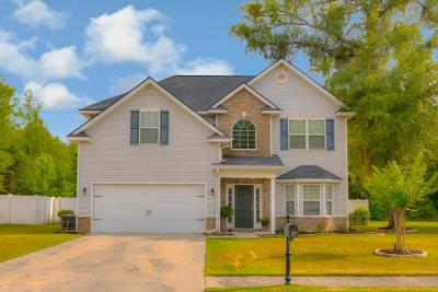 Hinesville Single Family Home For Sale: 1237 Peacock Trail
