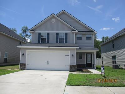 Hinesville Single Family Home For Sale: 221 Grandview Drive