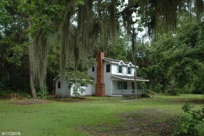 Riceboro Single Family Home For Sale: 348 H William Lane