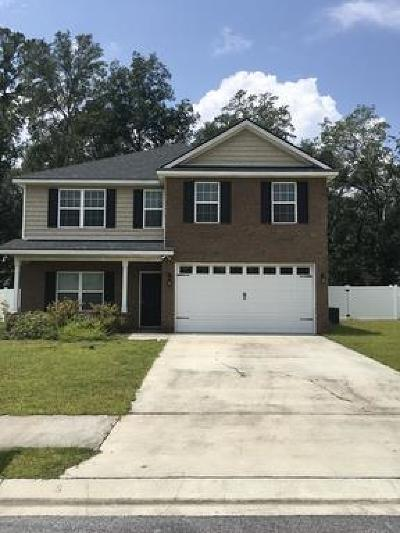 Hinesville Single Family Home For Sale: 718 Eden Lane