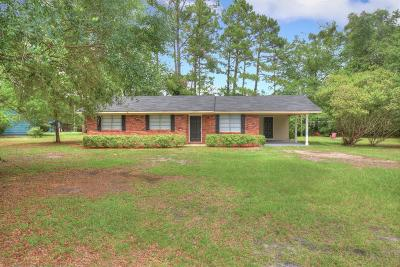 Hinesville Single Family Home For Sale: 3681 Highway 196 West