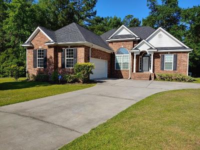 Liberty County Single Family Home For Sale: 1282 Peacock Trail