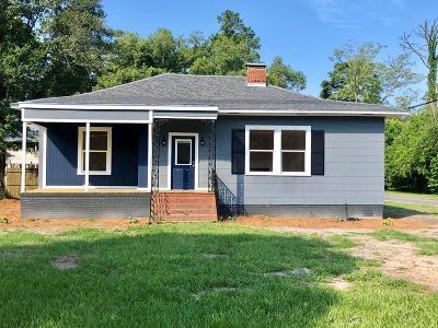 Jesup Single Family Home For Sale: 412 East Orange Street