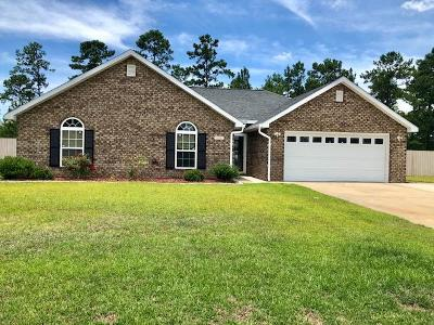 Ludowici Single Family Home For Sale: 396 Burnt Pines Road NE