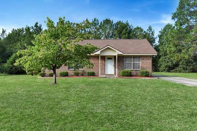 Hinesville Single Family Home For Sale: 552 Whit Fraser Road NE