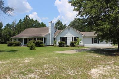 Jesup Single Family Home For Sale: 184 Cruz Drive