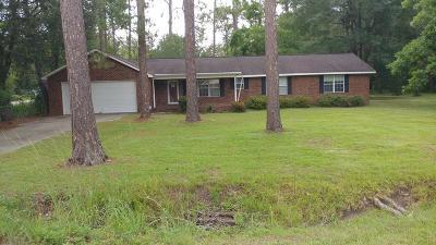 Jesup Single Family Home For Sale: 116 Mahan Street