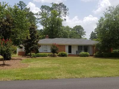 Jesup Single Family Home For Sale: 475 South Wayne Street