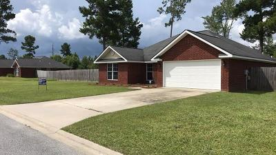 Ludowici Single Family Home For Sale: 40 Mill Pond Lane SE