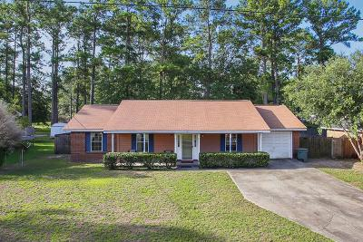 Hinesville Single Family Home For Sale: 605 Windhaven Drive