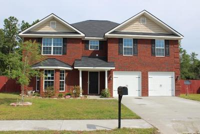 Hinesville Single Family Home For Sale: 1127 Creekside Circle