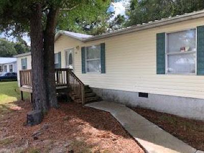 Jesup Single Family Home For Sale: 434 E Shellcracker Road