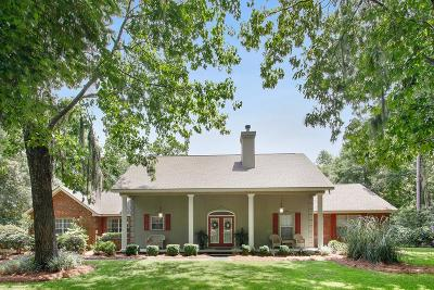 Single Family Home For Sale: 590 Bluff Road