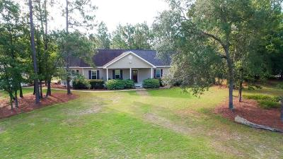 Jesup Single Family Home For Sale: 125 Horse Ranch Road