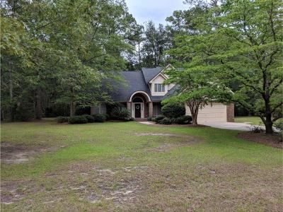 Hinesville Single Family Home For Sale: 411 Deerwood Road