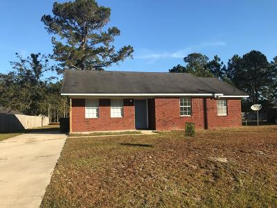 Hinesville GA Single Family Home For Sale: $85,000