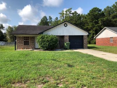 Hinesville GA Single Family Home For Sale: $145,000