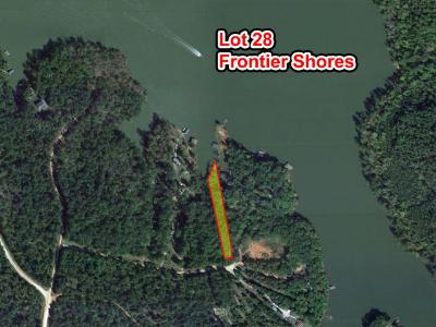 Sparta GA Waterfront For Sale: $39,900