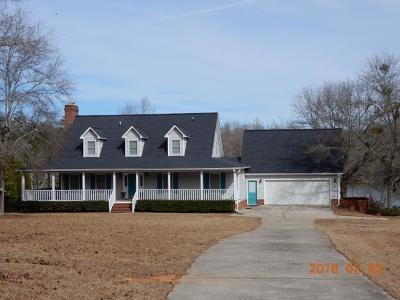 Milledgeville GA Waterfront For Sale: $499,000