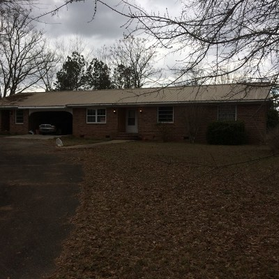 Haddock, Milledgeville, Sparta Single Family Home For Sale: 165 Gordon Highway