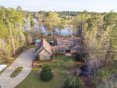 Milledgeville GA Waterfront For Sale: $435,000